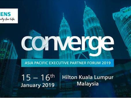 지멘스 2019 Executive Partner Forum, Kuala Lumpur 참석