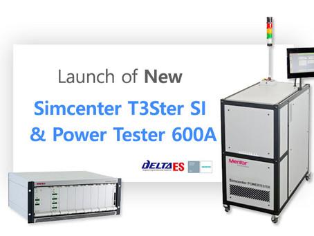 Simcenter T3Ster SI & Power Tester 600A 출시 - Power Tester 600A