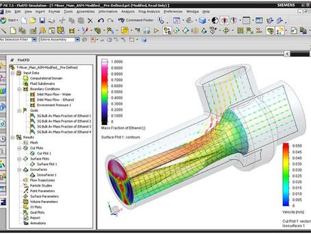 CAD-embedded CFD FloEFD V18 Release Highlight