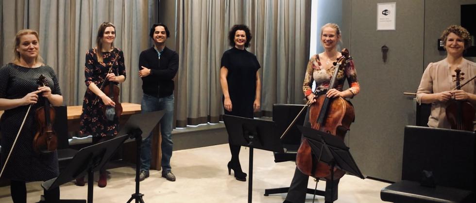 Repetitie Quintet Camille Claudel