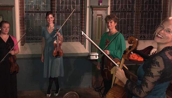 Quintet Camille Claudel backstage