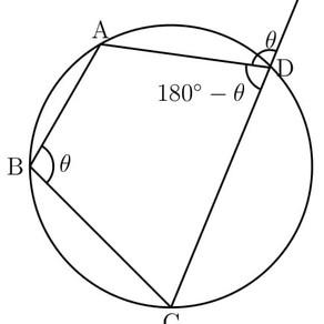 円に内接する四角形は対角を見ろ!