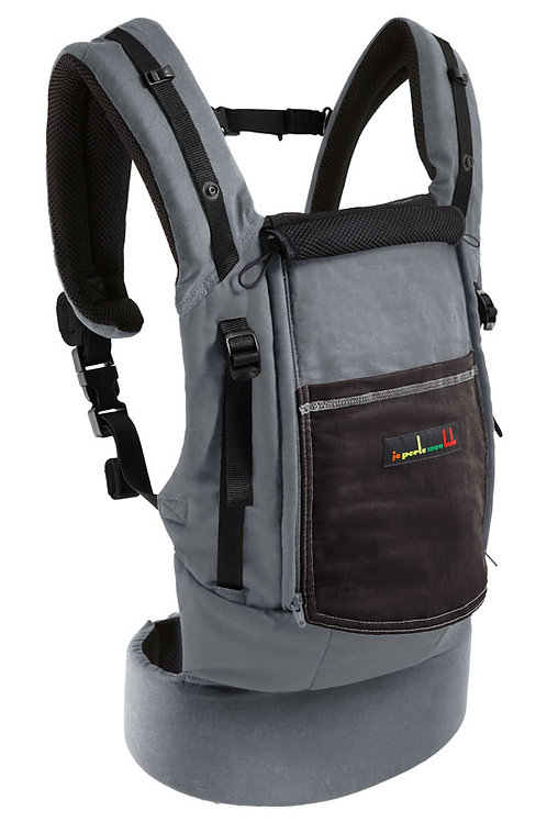 JPMBB PhysioCarrier - Grey and Coffee