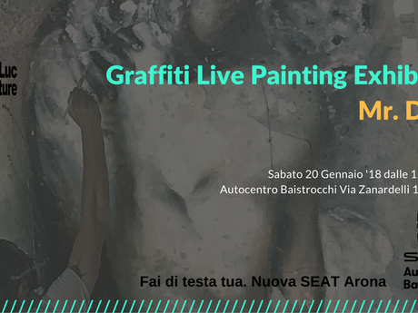 McLuc Culture presenta Graffiti Live Painting Exhibition con Mr. Dada