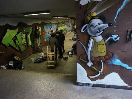 Salviamo, dalla chiusura, il sottopasso di Parma destinandolo all'arte urbana
