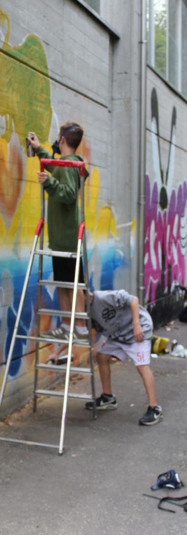 Palestra Scuola Don Milani: McLuc Culture Crew