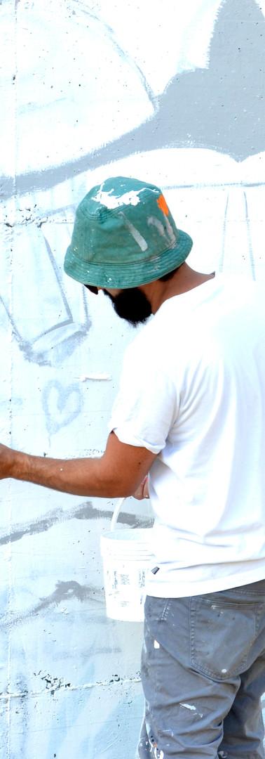 Convention Biennale Nazionale di Graffiti. Skatepark, via Paradigna. Pr