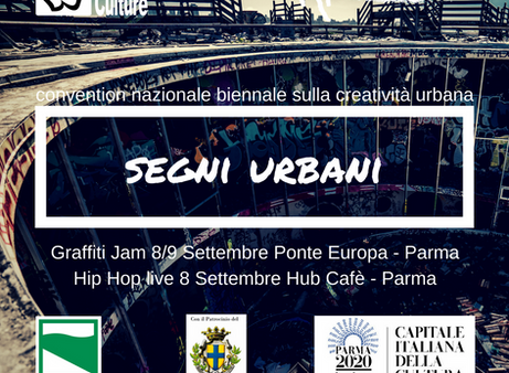 Segni Urbani edizione 2018: Convention Nazionale Biennale sulla Creatività Urbana