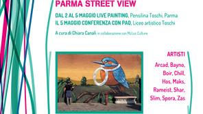 PARMA STREET VIEW: In collaborazione con McLuc Culture e con il Liceo Artistico Toschi