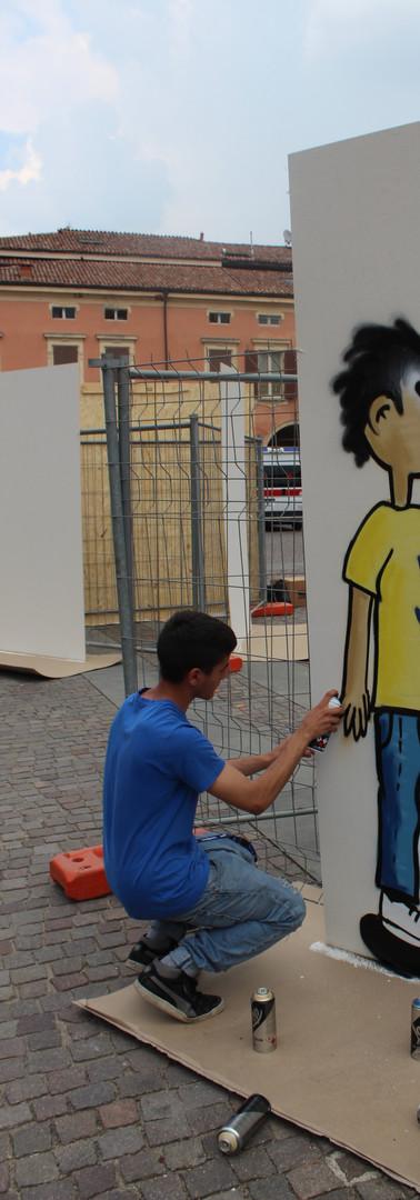 Writer per i Diritti dei Bambini. Sassuolo. Maggio 2018