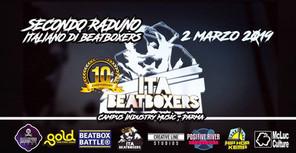 Raduno Italiano Nazionale Beatboxers 2019 a Parma al Campus Industry. 10° Anniversario