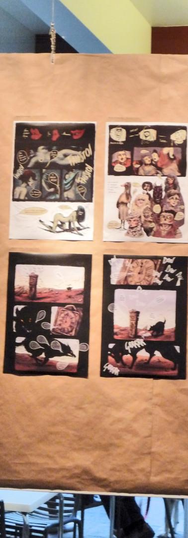"""Esposizione de """"Il sogno del Minotauro""""  di Roberta Sacchi"""