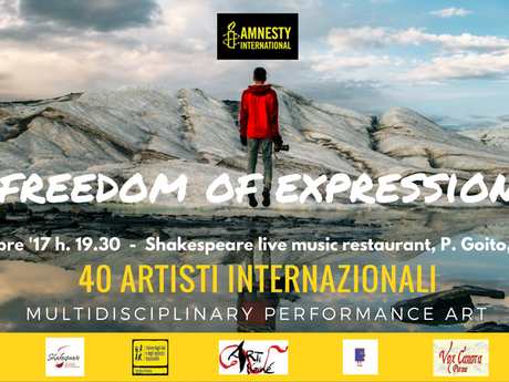 Freedom of Expression: 40 artisti per Amnesty International a Parma