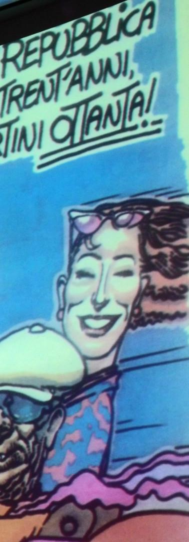 Incontro su Andrea Pazienza il 31 maggio 2012 presso Hub Cafè