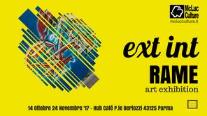 Ext Int: Esposizione dell'artista Rame, membro di McLuc Culture, a Parma