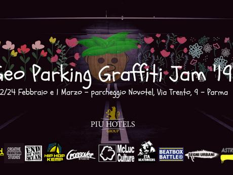 Geo Parking Graffiti Jam 2019 a Parma