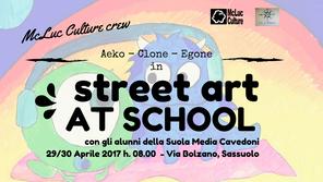 McLuc Culture presenta: Street Art at School