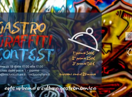 Gastro Graffiti Contest '19 a Parma
