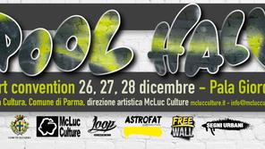 Pool Hall Street Art Convention 2016. Pala Padovani, Parma