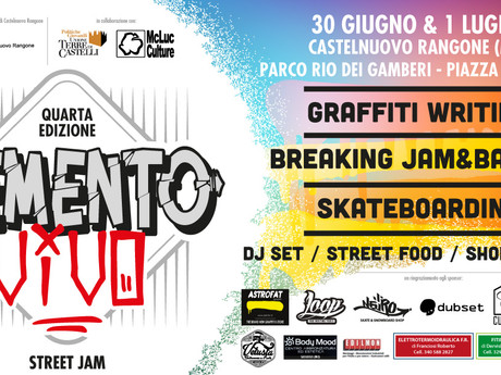 Cemento Vivo Street Jam 2018: Castelnuovo Rangone. Mo
