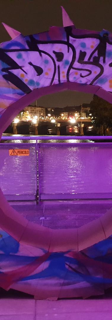 Night Bridge al Ponte Europa. Maggio 2019