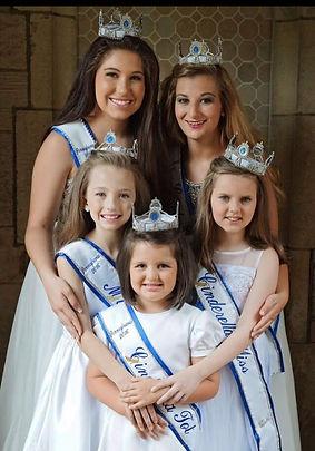 2015 Pennsylvania Cinderella Pageant Royalty