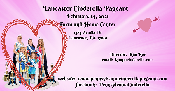 2021 Lancaster Cinderella Facebook Event