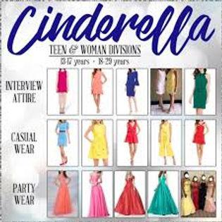 Cinderella Teen and Woman Clothing Examp