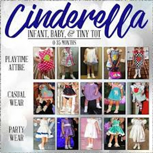 Cinderella Infant-baby-tiny tot Clothing