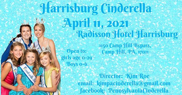2020 Harrisburg Cinderella Event Cover c