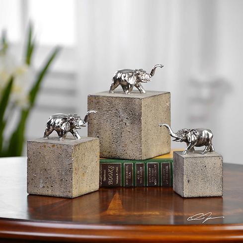 I#771010_ Elephant Sculptures