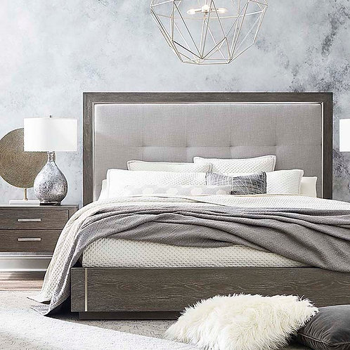 Grey King Bed