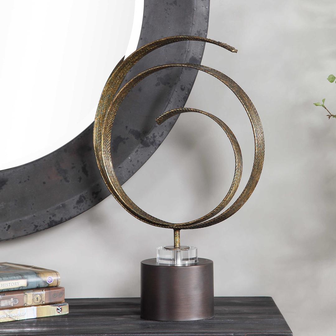 I#17559 _ Sculpture Elio Bronze