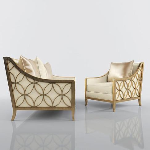 I#99867 _ Social-Butterfly Chair Cream