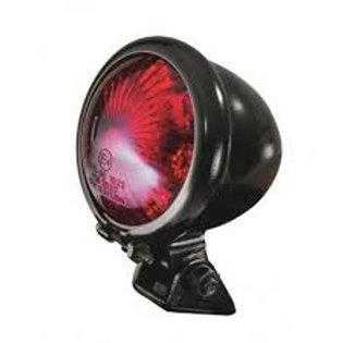 Feu arrière LED homologué rouge Bihr EGG noir