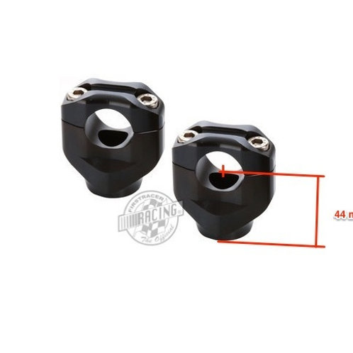 Pontets noir Black bar mounts LSL Ø 25.4 mm