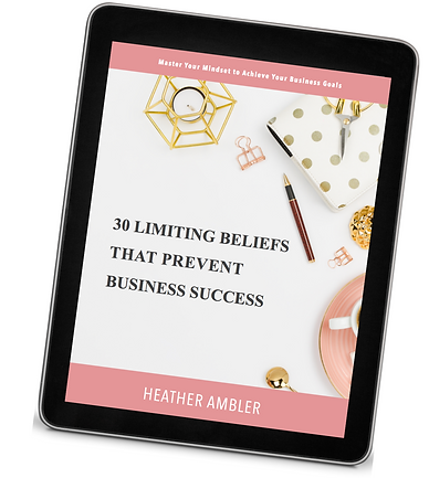 Business Success Limiting Beliefs Image