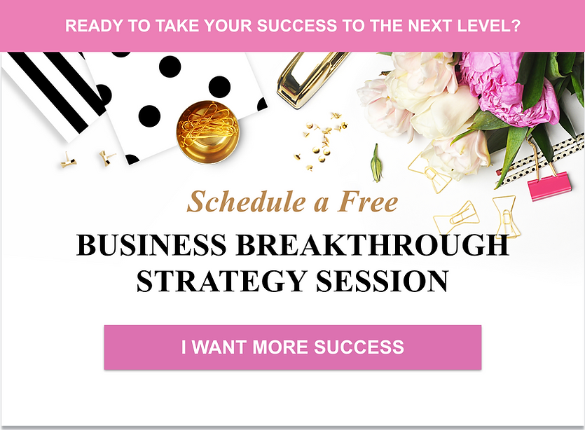 Business Breakthrough Session Banner for