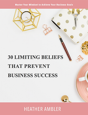 Cover of 30 Limiting Beliefs that Preven