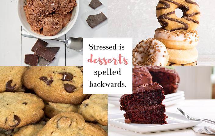 Stressed is desserts spelled backwards f