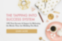 Tapping into Success Banner for Website.