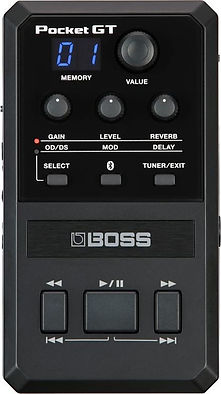 Boss Pocket GT multi effect Ithaca Guita