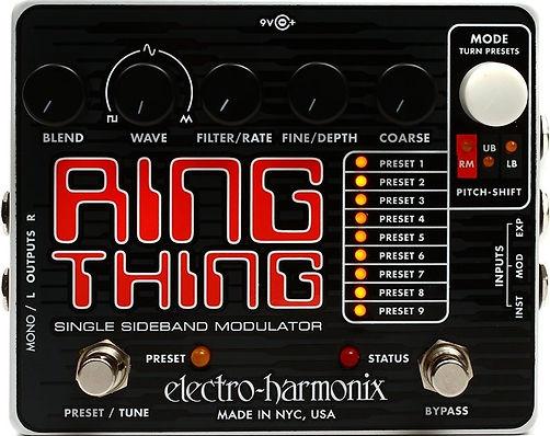 Electro Harmonix EHX Ring Thing Ithaca G