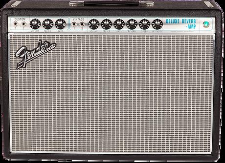 Fender 68 Deluxe Reverb Ithaca Guitar Wo