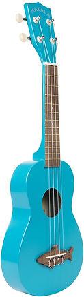 Makala MK-SS-BLU Blue Shark Soprano Ukul