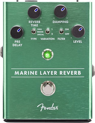 Fender marine layer reverb Ithaca Guitar