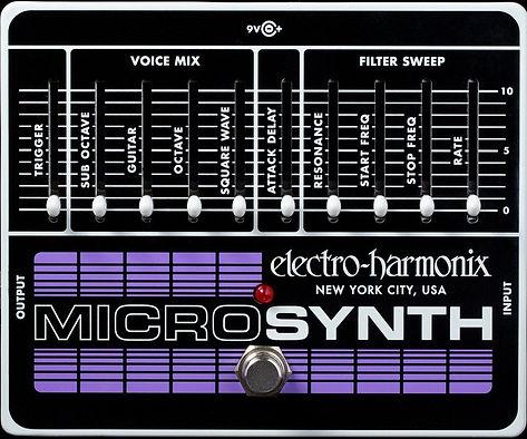 Electro Harmonix EHX Micro Synth Ithaca