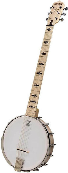 Goodtime Deering Banjo Six String pickup