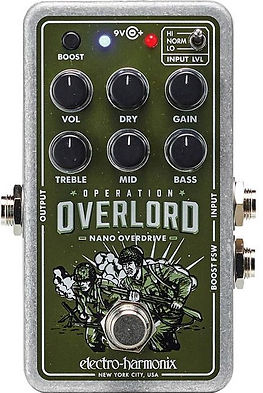 Electro Harmonix EHX Operation Overlord