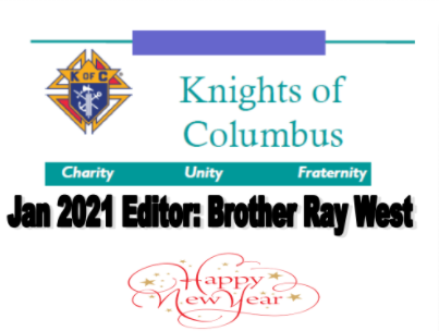 Read the January 2021 Knights Newsletter